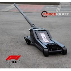 Forsage 3 Ton Çift Pistonlu F1 Düşük Profil Arabalı Kriko 36 kg